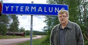 Lars Nilsson, entreprenör från Malung, vill bygga om Yttermalungs skola till äldreboende. OBS! Bilden är ett montage