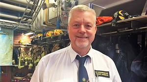 Sala-Hebys räddningschef Tommy Jansson. Arkivbild.