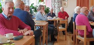 Medlemmarna i PRO Torvalla har haft årsmöte. Foto: Bo Byström