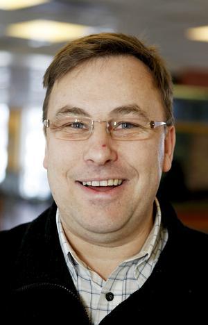 Claes-Göran Jönsson, chef på McDonald´s.