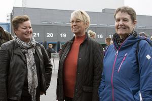 Anki  Alfredeén, Birgitta Alfredeén och Ros-Marie Persson var nöjda med dagen.