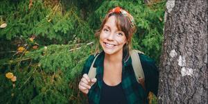 Foto: Oskar Wallander   Frilansjournalisten Emma V Larsson har skrivit en barnbok som utspelar sig i Tyresta nationalpark.