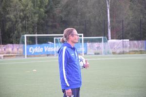 IFK-tränaren Håkan Ryss ser flera utmaningar för damlaget.