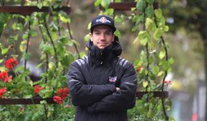 Pontus Aspgren trivs bra hemma i Avesta och hoppas komma tillbaka och köra för Masarna innan karriären är över.