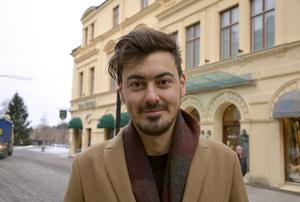 Rasmus Bouvin, 28, traveler, Sundsvall:
