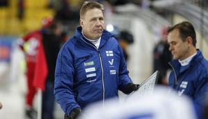 1989–1992, 1997–1999 och 2013–2019. Det är perioderna som Antti Parviainen varit förbundskapten för finska landslaget. Bild: Rikard Bäckman / Bandypuls.se / TT