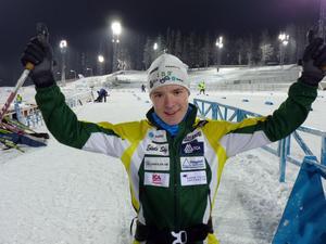 Samuelsson hade stora framgångar som junior och plockade många JSM-medaljer.Foto: Privat