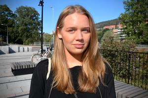 Lina Harge, 22, studerande, Sundsvall
