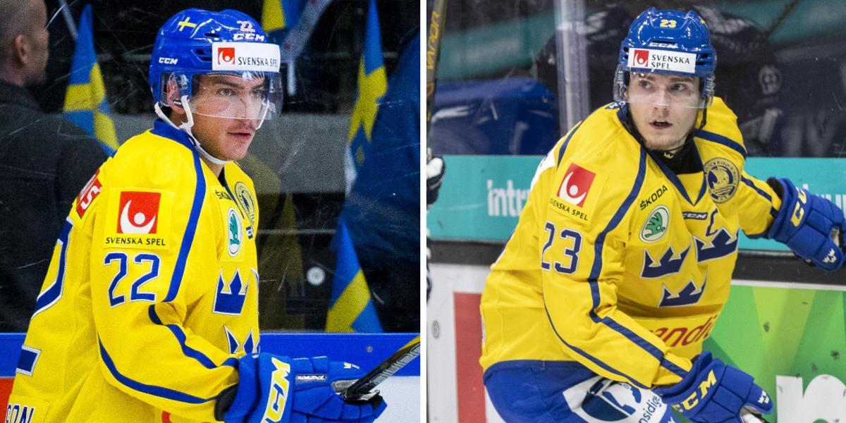 Varken Anton Wedin eller Lias Andersson i nästa landslagsturnering – bara KHL-spelare aktuella