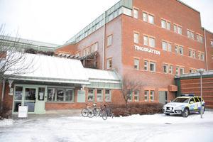 Foto: Marcus EricssonDen nu åtalade mannen häktades av Östersunds tingsrätt 24 november. Arkivbild.