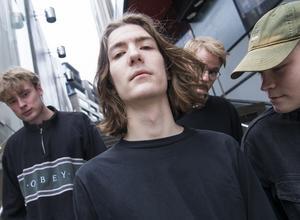 Från vänster: Fredrik Danfors, Michael Dahnberg, Olof Wärend Rylander och Albin Egrelius Fredlund i Mares. Bild: Fredrik Sandberg / TT