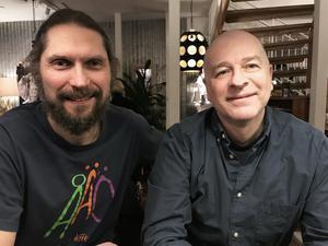 Frédéric Kosicki och Bernard Huguet. Foto: Privat
