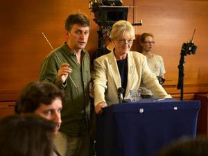 Jonas Grimås har regisserat delar av Kommissionen som har premiär i SVT den 23 augusti.