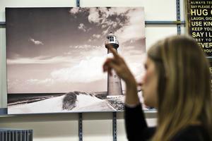 Egna semesterbilder är populärt att göra fotokonst av. De kan också göra sig bra tillsammans med ett köpt motiv.