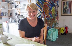 Julia Öhman letar nu intressenter till de 14 radhusen, som Systrarna Öhman AB planerar på Södra Järnvägsgatan.