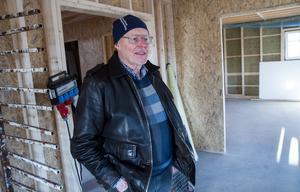 Invändig utformning av visningshuset kan en köpare få vara med och bestämma, förklarar Lars Göran Berglin.