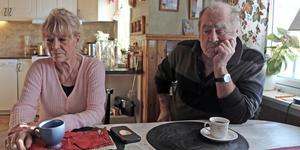 Gunilla Lidström och Torbjörn Lidström har fortfarande inte återfunnit jämthunden Hoj.
