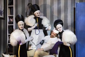 De tre damerna. Fotograf: Andreas Hylthén.