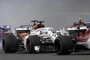 Marcus Ericsson offrades av teamet men knep ändå en niondeplats. Foto: Marco Ugarte/TT