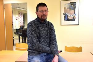 Läraren Tomas Einarsson.