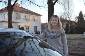 Alexandra Larsson var anställd som trafiklärare i sju år, innan hon startade eget.