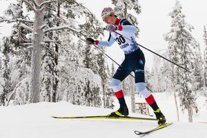 William Poromaa när säsongen startade i Gällivare i höstas. Bild: Mathias Bergeld/Bildbyrån