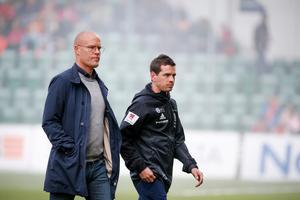 Ferran Sibila, till höger, är Joel Cedergrens allra närmsta kollega.