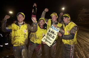 2001 tog Andreas Jonsson och Rospiggarna sitt andra SM-guld.