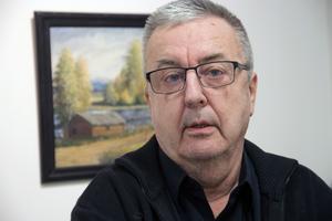I början var jag inte så intresserad av Olof Nilssons konst. Men när jag blev äldre blev jag mer och mer intresserad av hans motiv, säger Bosse Marcelind.