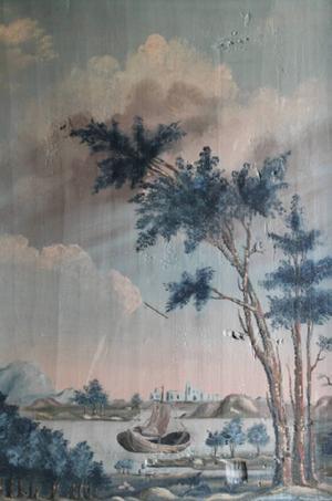 Lantbrukaren och målaren Anders Berglin målade både husinteriörer och kyrkor, blommor och landskap. Nu kommer boken om hans konst.