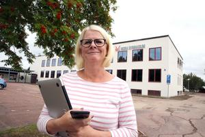 Rektor Ewa Ekström, Mora gymnasium.