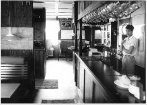 Lizas stekhus, den här bilden är tagen 1989 redan. Foto: Dan Törnström.