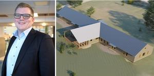 Dan Nordin, Fuabs vd, har planer på en ny skola i Långviksmon.