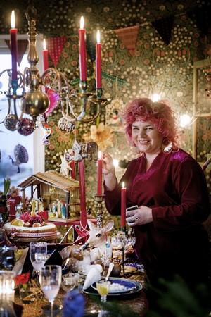 FRONTBILD!  Louise gillar julkrubbor: