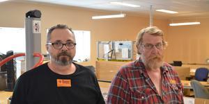 Både Johan Sandmark och Rune Öberg har lyfts ur bidragsberoendet i och med anställningen på Koopus.