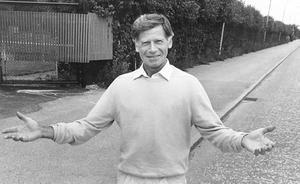 Lasse Carlén. Bild tagen 1986.