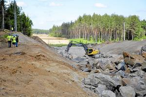 Etapp 1. Så här såg det ut när första etappen av dubbelspåren mellan Hallsberg och Degerön byggdes. Nu startar etapp två, med Skanska som totalentreprenör.