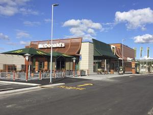 Så här ser en av McDonald's nybyggda restauranger ut. Den här ligger i Ulricehamn och restaurangen i Bollnäs kommer att bli snarlik.