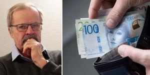 Bo Färdigh använder kort men skulle föredra kontanter om det var brukligt i samhället. Foto: Conny Svensson/Fredrik Sandberg/TT