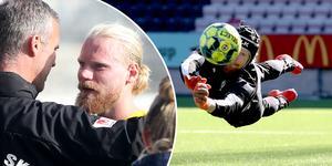 Mathias Karlsson berättar att i nuläget finns det inte någon överenskommelse med en annan klubb.