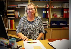 Marianne Persson, sektionsordförande i Kommunal Kramfors