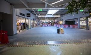 Coronavirusets effekt i butikerna.