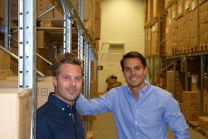 Robin (till vänster) och Roy Johansson blir den tredje generationen som driver Dorre. Familjebolaget från Borlänge grundades 1963 av deras farfar och farmor.