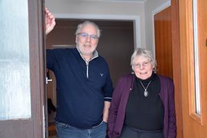 Paret Hans Hansson och Karin Frölander har lagt ner mycket tid och pengar i Villa Orrbacken.