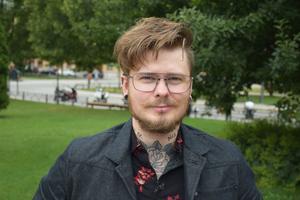Pontus Fröling, 27 år, svetsare, Sundsvall.