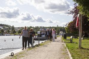 13 deltagare från Söderhamn och Finland var på plats under måndagen.