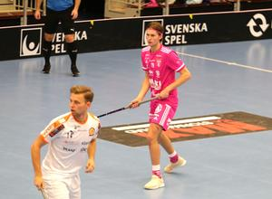IBF Faluns talang, Victor Wettergren, gjorde tre mål och en assist i segermatchen mot Höllviken på lördagskvällen.