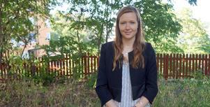 Mikaela Görlin från Borlänge är en av årets 18 stipendiater som får delar på pengar från Hans Werthéns Fond. Foto: Kungliga Ingenjörsvetenskapsakademien, IVA.