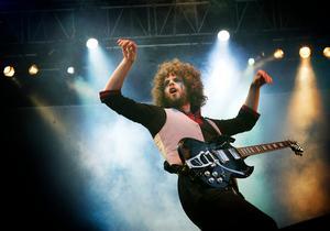 Frontmannen Andrew Stockdale på den norska festivalen Wood Music. Foto: Heiko Junge / SCANPIX