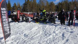 Här är en bild från förra årets Björnåsträff i finvädret. Foto: Privat